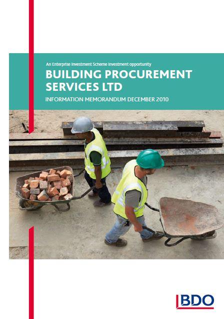 Building Procurement Services Limited