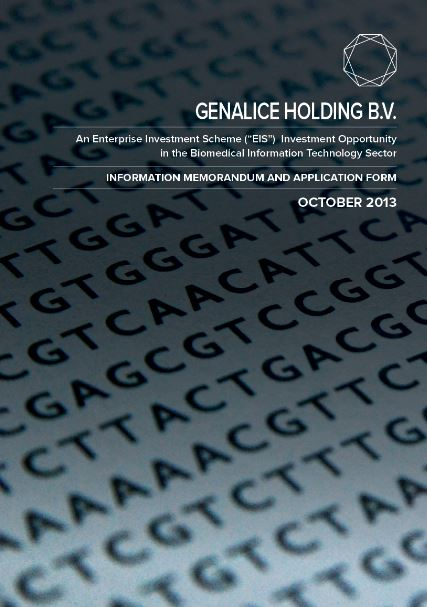 Genalice Holdings BV