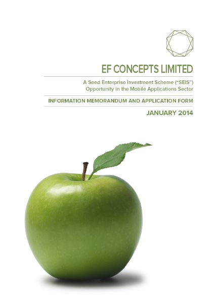 EF Concepts Limited SEIS