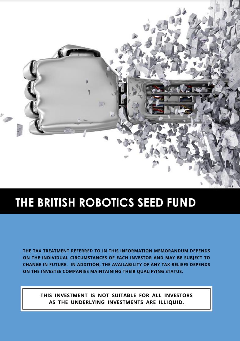 The British Robotics Seed Fund