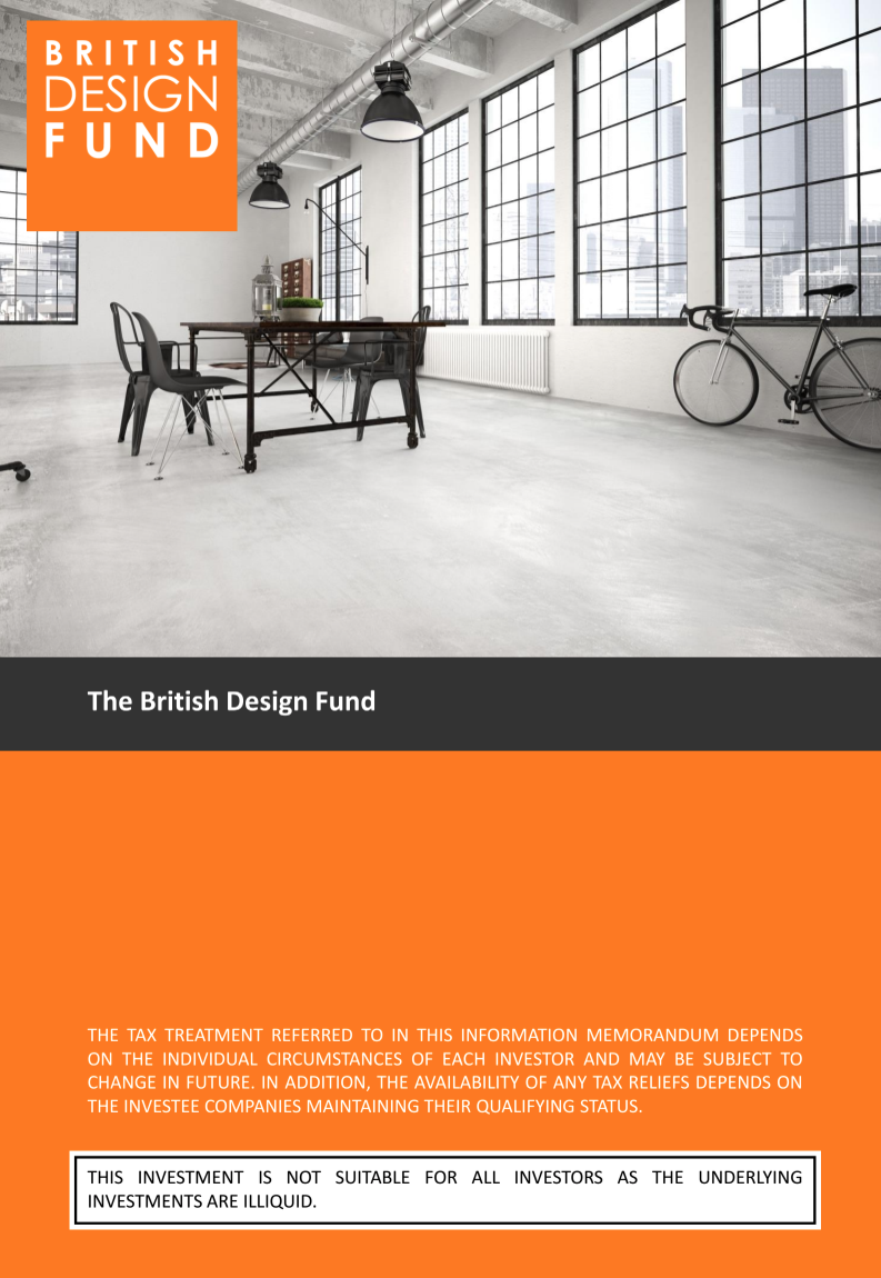 The British Design Fund