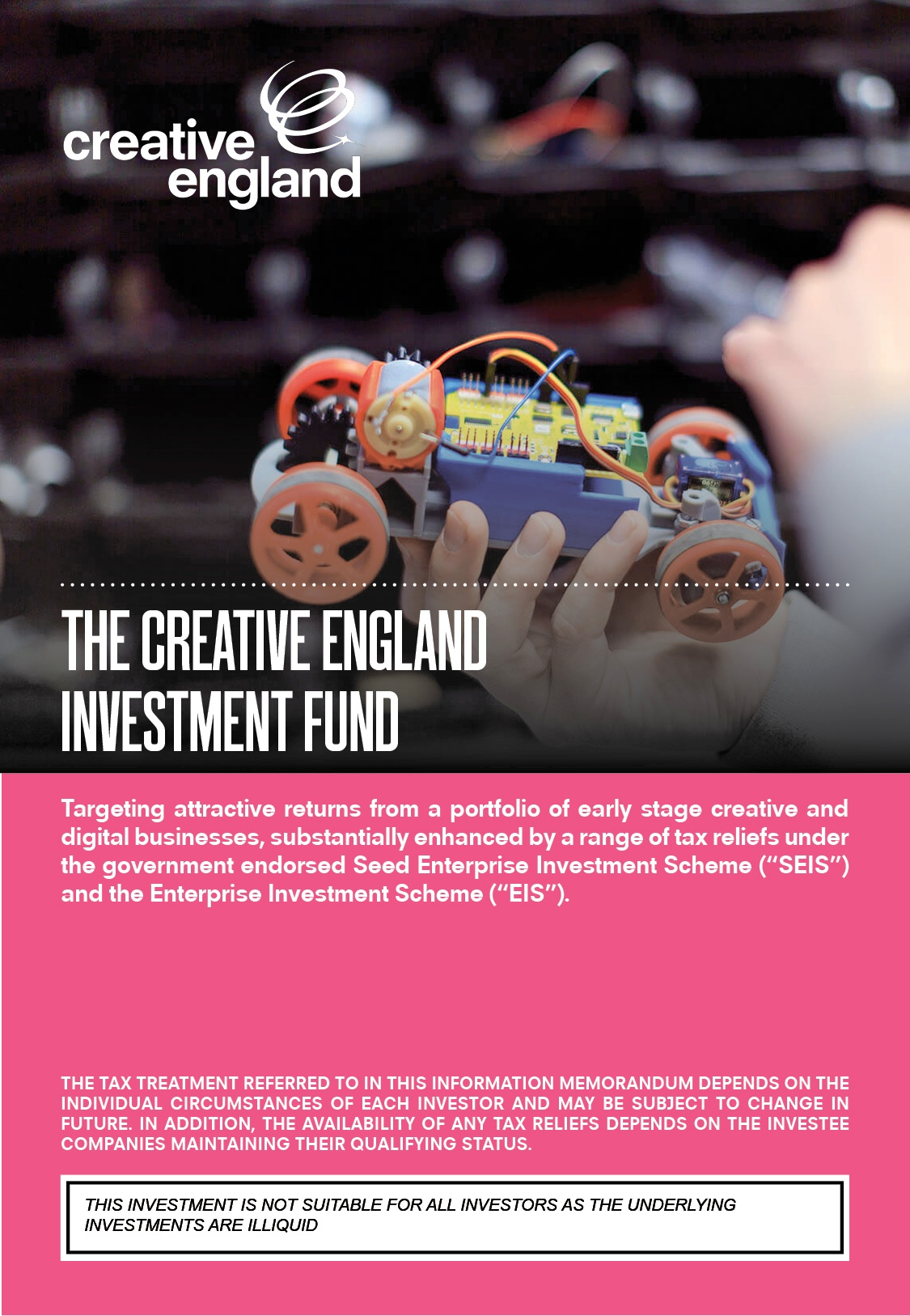 The Creative England Investment Fund