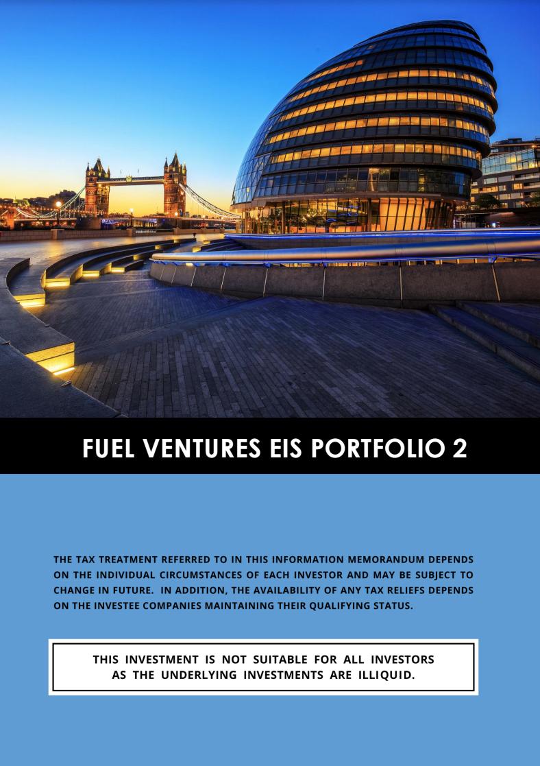Fuel Ventures EIS Portfolio 2