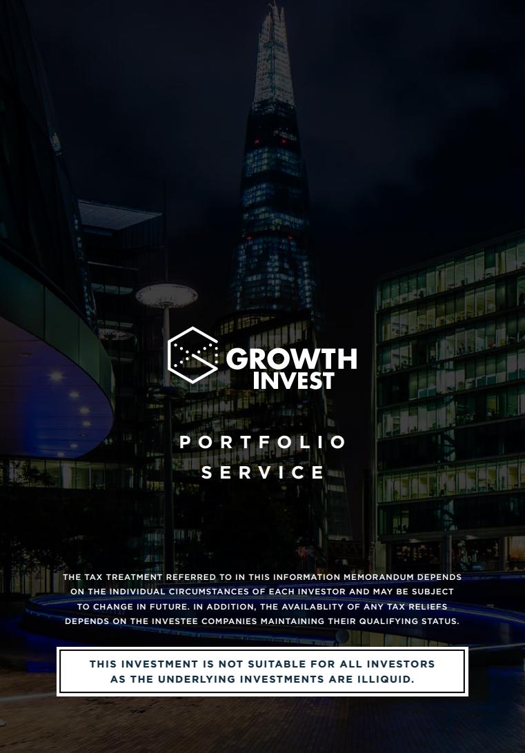 The GrowthInvest Portfolio Service