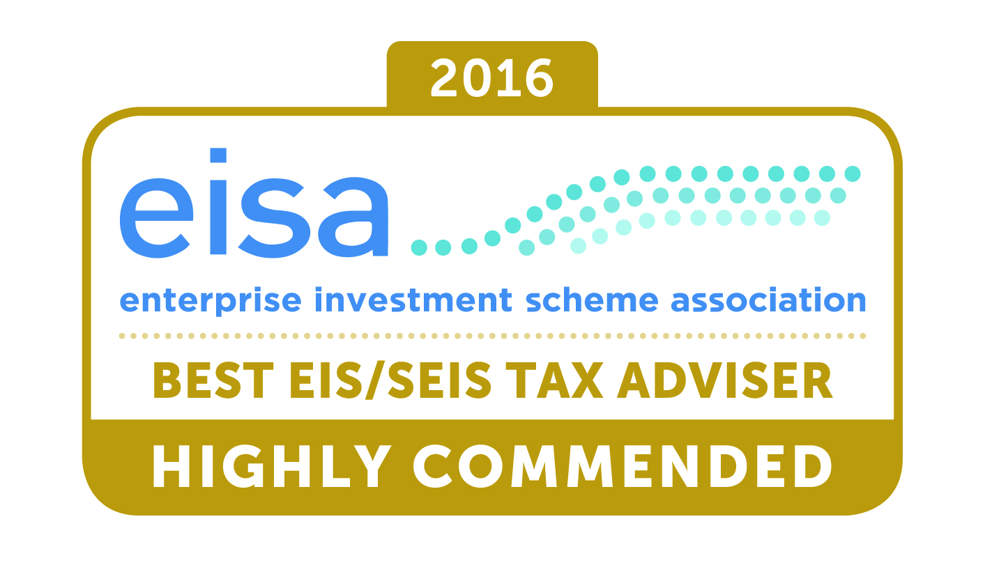 eisa Awards 2016 Best EIS/SEIS Tax Adviser