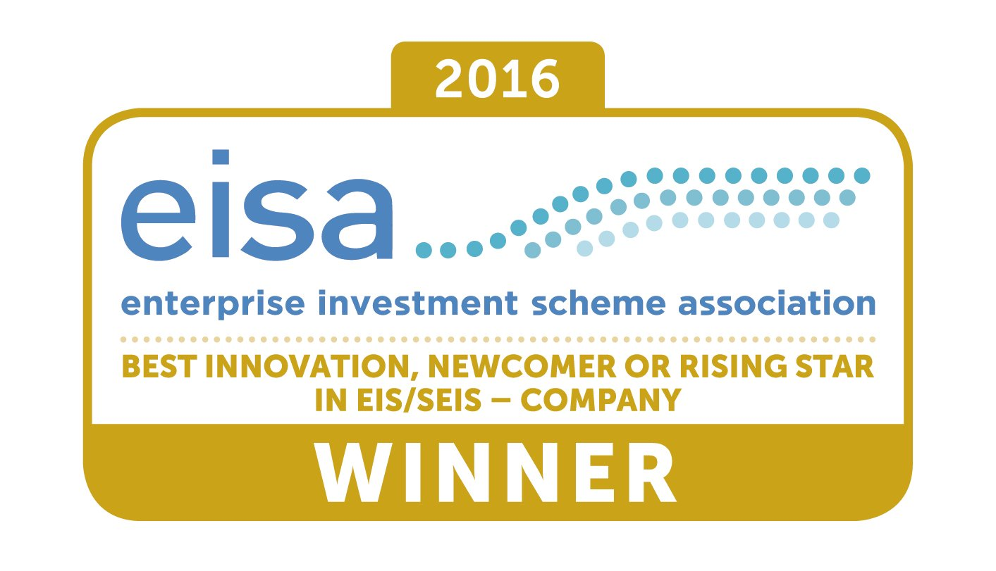 EISA awards - best company innovation, newcomer or rising star in EIS and SEIS
