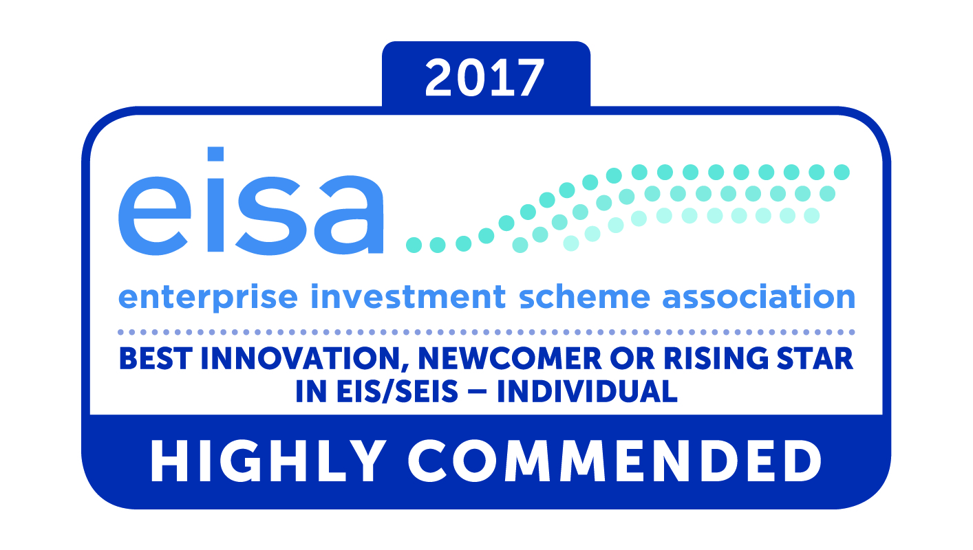 eisa Awards 2017 Best Innovation, Newcomer or Rising Star in EIS/SEIS Highly Commended