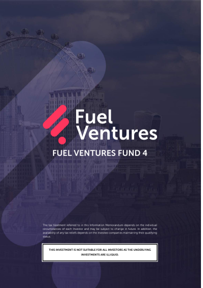 Fuel Ventures Fund 4 IM Cover