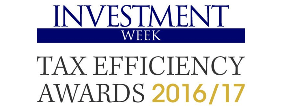 Investment Week Tax Efficiency Awards 2016/17