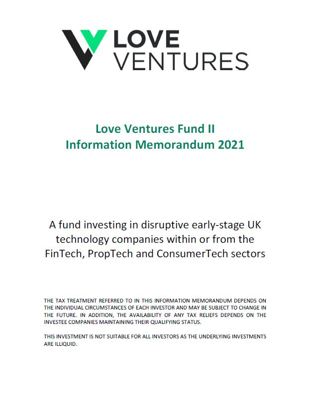 Love Ventures Fund II Cover