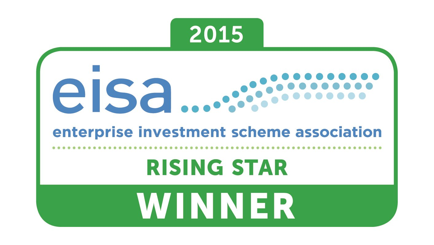 EISA Awards - House of Lords - February 2016 Best Individual - rising star in EIS and SEIS