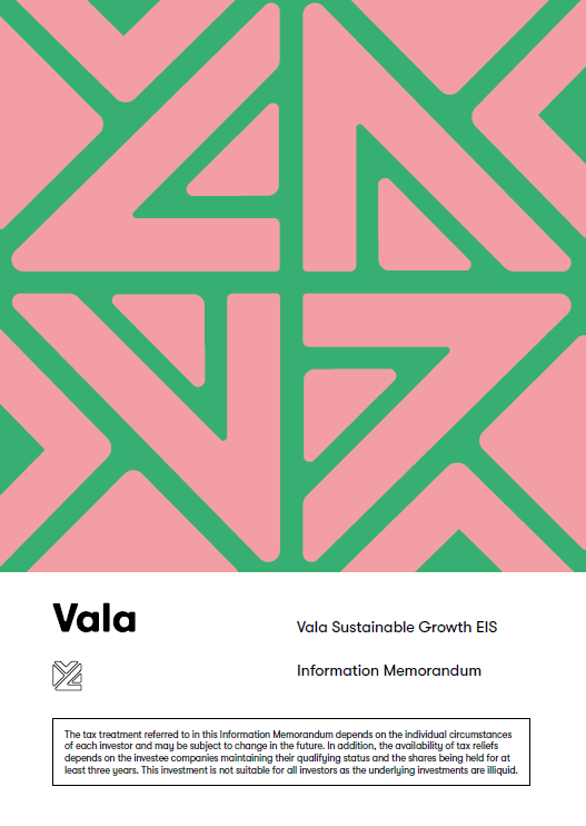 Vala Sustainable Growth EIS Cover