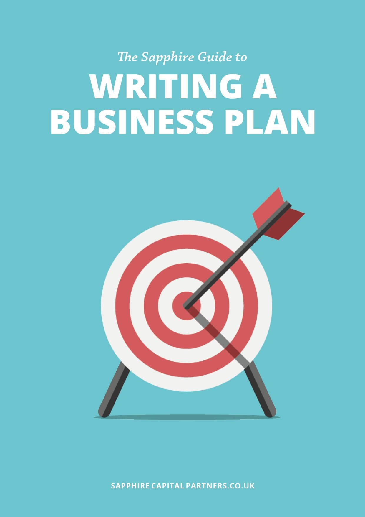 The Sapphire Guide to Writing a Business Plan eBook cover