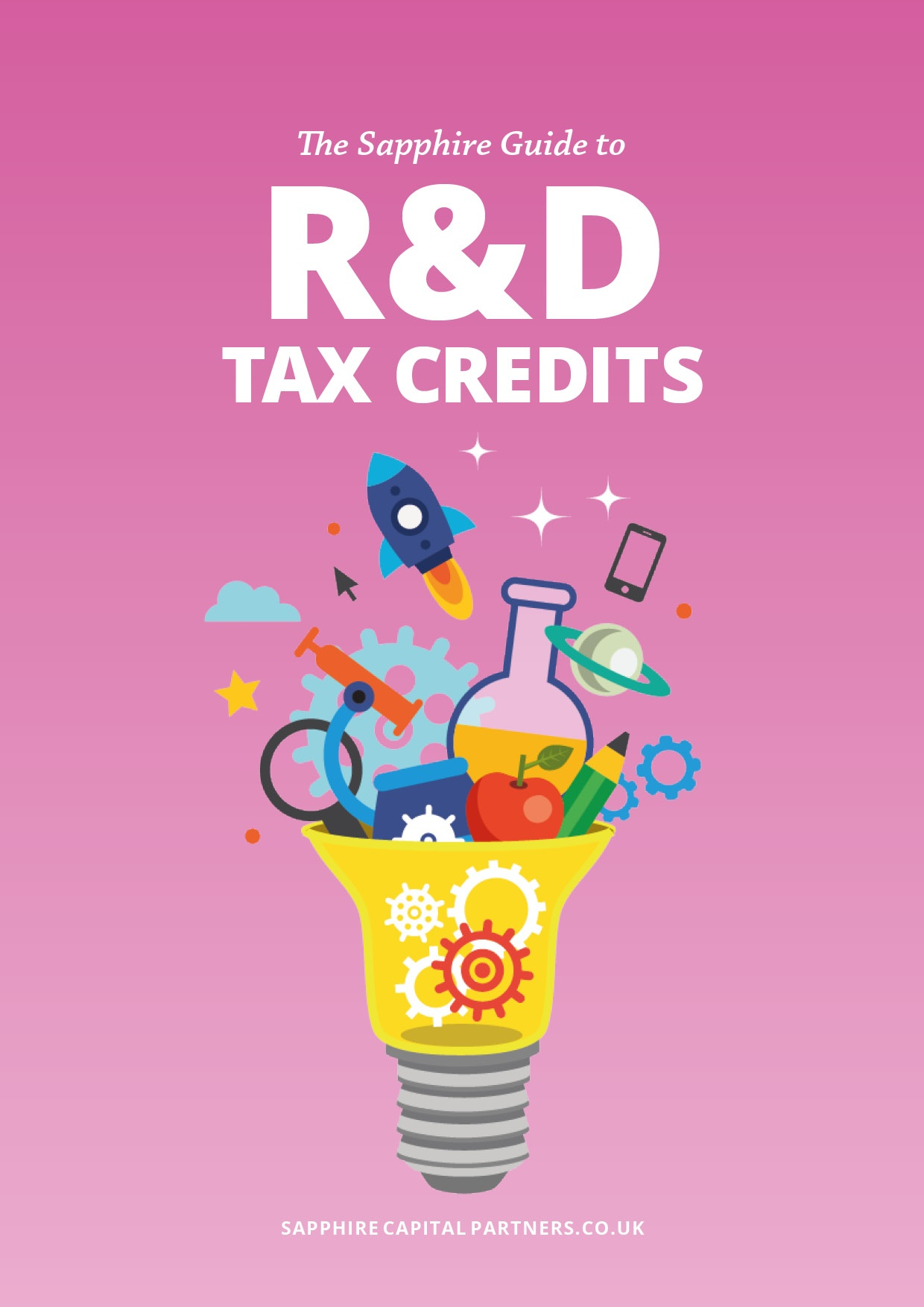 The Sapphire Guide to R&D Tax Credits eBook cover