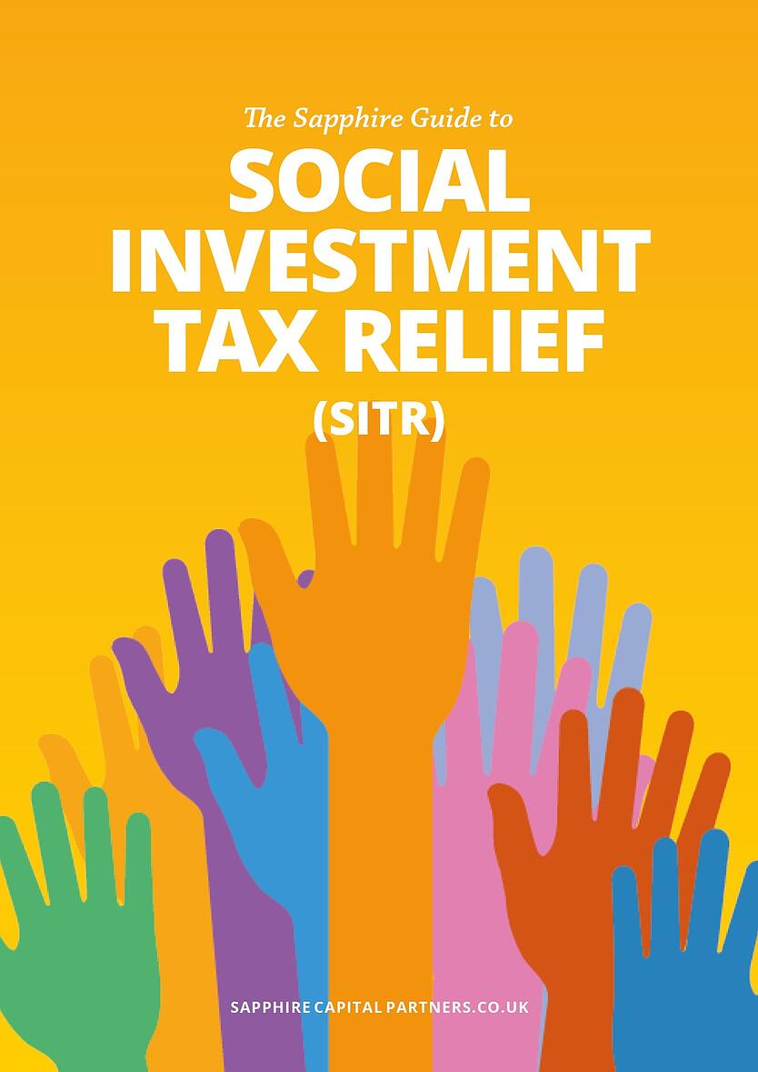 The Sapphire Guide to Social Investment Tax Relief eBook Cover