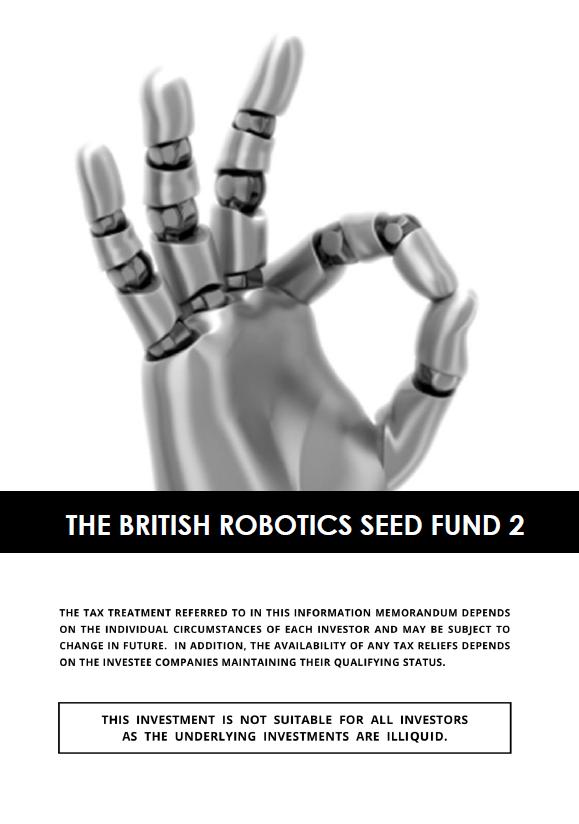 The British Robotics Seed Fund 2
